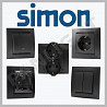 Simon Grafit, prize culoare neagra, prize si intrerupatoare Simon Elec
