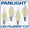 BEC LED FILAMENT, ILUMINAREA CU LED, BECURI LED FILAMENT, PANLIGHT