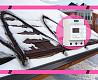 Нагревательный кабель (саморегулируемый) для крыши и водостоков.