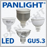 BEC LED gu5.3 MR16, LEDURI, CORPURI DE ILUMINAT, BECURI LED, PANLIGHT,