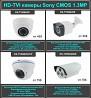 Камеры и регистраторы IP HDTVI AHD NVR DVR, установка Кишинев