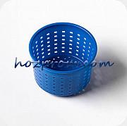 Синяя сырная форма Лазурь с выходом продукции 0,20 - 0,35 кг.