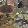 Копаем траншей канализаций водопровод фундаменты погреба сливные ямы с