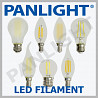 BEC LED FILAMENT, PANLIGHT, BECURI LED FILAMENT, LED MOLDOVA, ILUMINAR